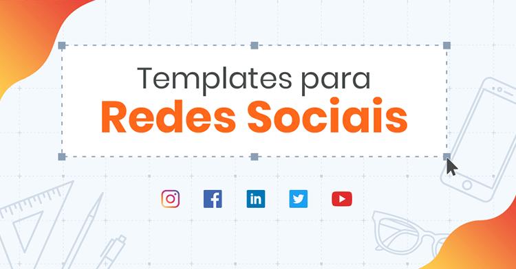 Kit: Guia completo de tamanho de imagens, vídeos e outros formatos para redes sociais! (+ templates grátis!)