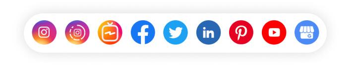 As redes sociais da sua empresa em um só lugar!