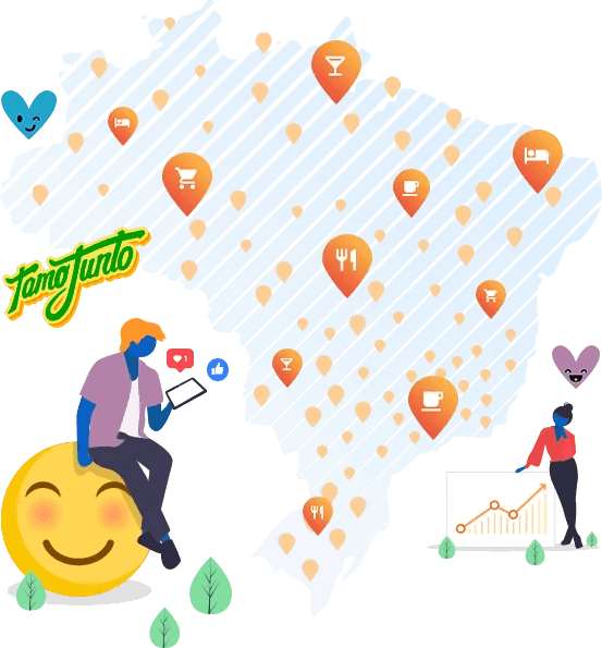 mapa de clientes mlabs