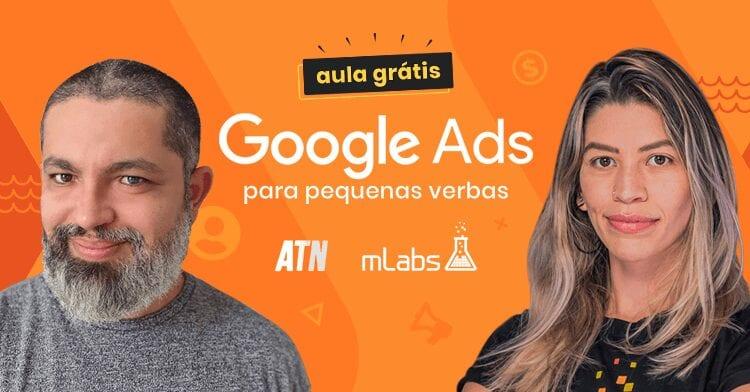 Webinar Google Ads para pequenas verbas